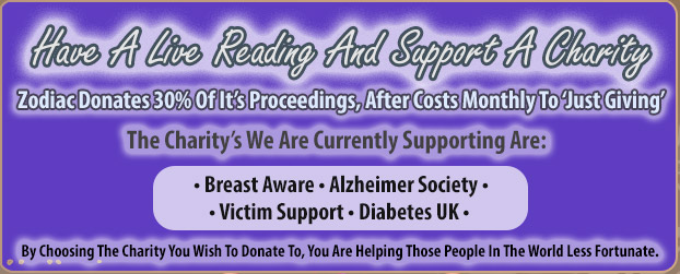 Support A Charity With Our Readings