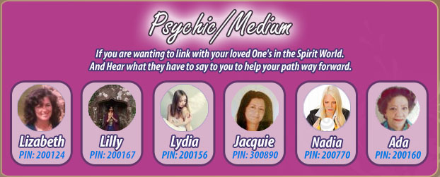 Our Psychics And Mediums
