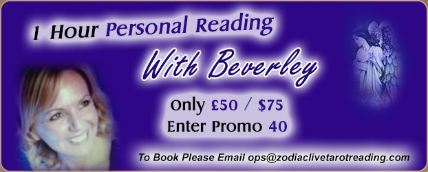 Get A 1 Hour Personal Reading With Beverley